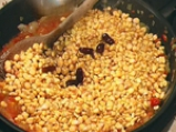 Сармички с царевица и  фасул 4