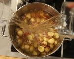 Картофена супа със зелен боб 4