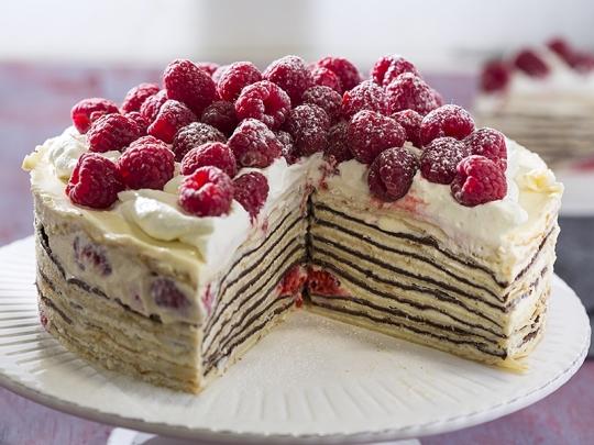 """Палачинкова торта """"Ден и нощ"""""""