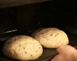 Хляб с маслини и сушени домати 7