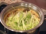 Океански кликач със спанак и зеленчуци