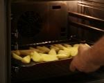 Салата от печени картофи