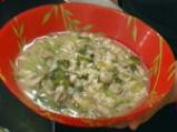 Гъбена супа с овесени ядки 4