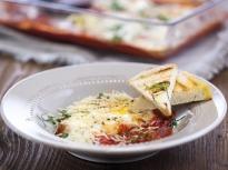 """Печени яйца със сос """"Маринара"""""""