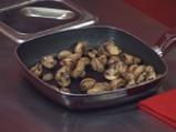 Салата от печурки с розмаринов винегрет