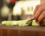 Опушена салата с царевица 4