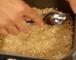 Малинов сладкиш с овесени ядки 4