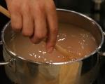Студена супа от тиквички и леща
