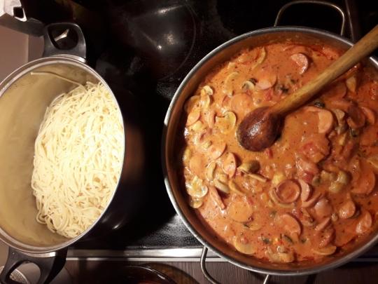 Вкусни спагети