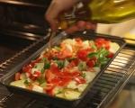 Салата от печени картофи 4