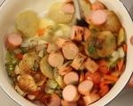 Салата от печени картофи 9