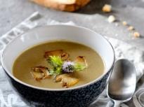 Зеленчукова крем супа с цели манатарки
