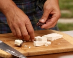 Шишчета от козе сирене и фурми