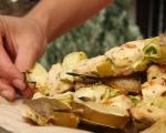 Шишчета с пилешко и тиквички  7