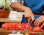Пиле с домати 2