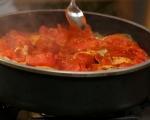 Пиле с домати 6