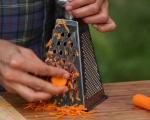 Зелева салата с дресинг от моркови 2