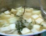 Супа от целина с черна леща 3