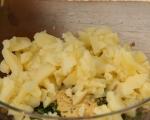 Картофени лодки с риба на фурна 3