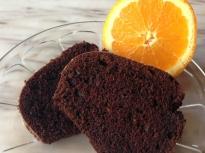 Кекс с кафе и портокал