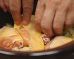 Задушено пиле със сарми от български ориз 5