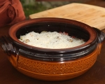 Печени миди с картофи и ориз 7
