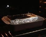 Терин от пилешко и кестени с пюре от круши  8