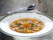 Супа с говеждо месо и зеленчуци