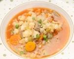 Супа с говеждо месо и зеленчуци 5