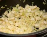 Яхния с пилешко и кореноплодни 5