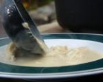 Яхния с пилешко и кореноплодни 9
