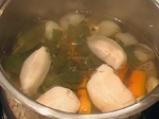 Поширана риба с ароматен винегрет 2