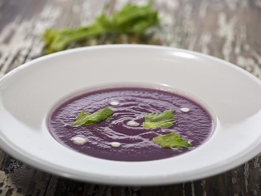 Крем супа от червено зеле