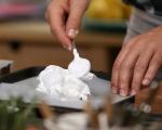 Целувчена торта с крем от кестени 2