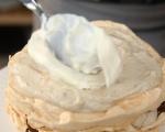 Целувчена торта с крем от кестени 9