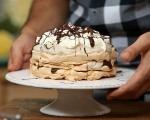 Целувчена торта с крем от кестени 10