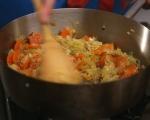 Ориз с праз и моркови 2