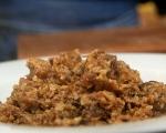 Грузинска яхния с телешко и гъби 5