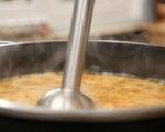Крем супа от червена леща с чоризо 5