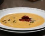 Крем супа от червена леща с чоризо 7