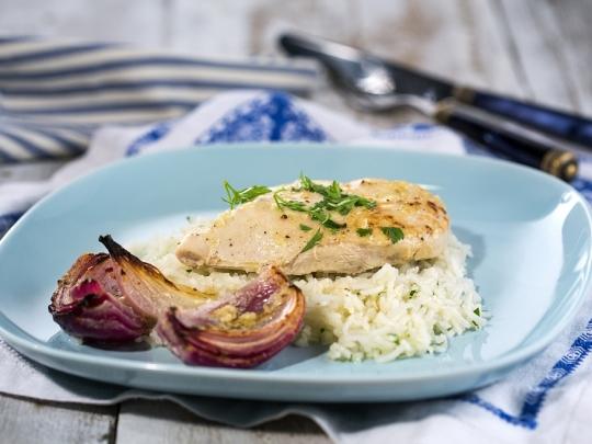 Ливанска пилешка шаварма