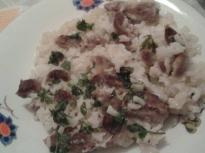 Пилешки воденички с ориз на фурна
