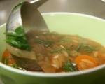 "Зеленчукова супа с паста ""Орзо"" 6"