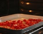 Паста с печени домати, маслини и трохи 2