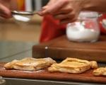 Тарт с крем сирене и дюли 7