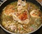 Пилешки бутчета с горчичен сос 4