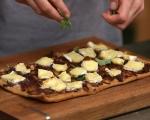 Пица с гъби, камамбер и тъмна бира 10