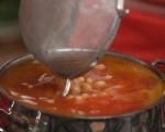 Супа с тиква и нахут 3
