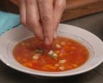 Супа с тиква и нахут 4