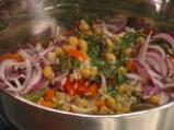 Оризова салата със зеленчуци 3